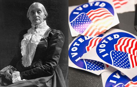 You've Got to See What's Going on at Susan B  Anthony's Grave Today