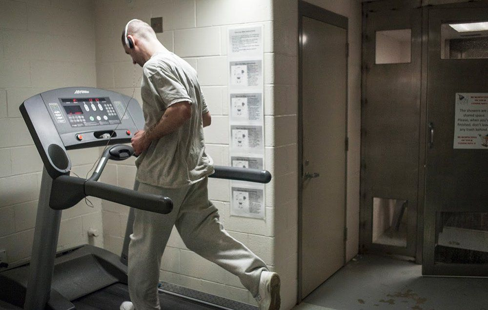 How I Came to Run the Boston Marathon in Prison, on a Treadmill