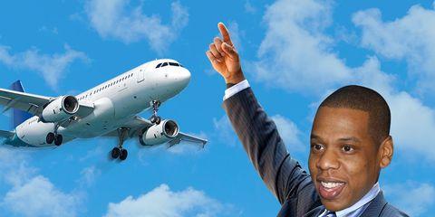 jay z private jet uber