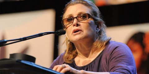 carrie fisher and mental health