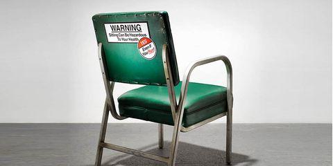 hazardous office chair