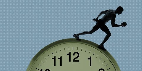 memory and exercise timing