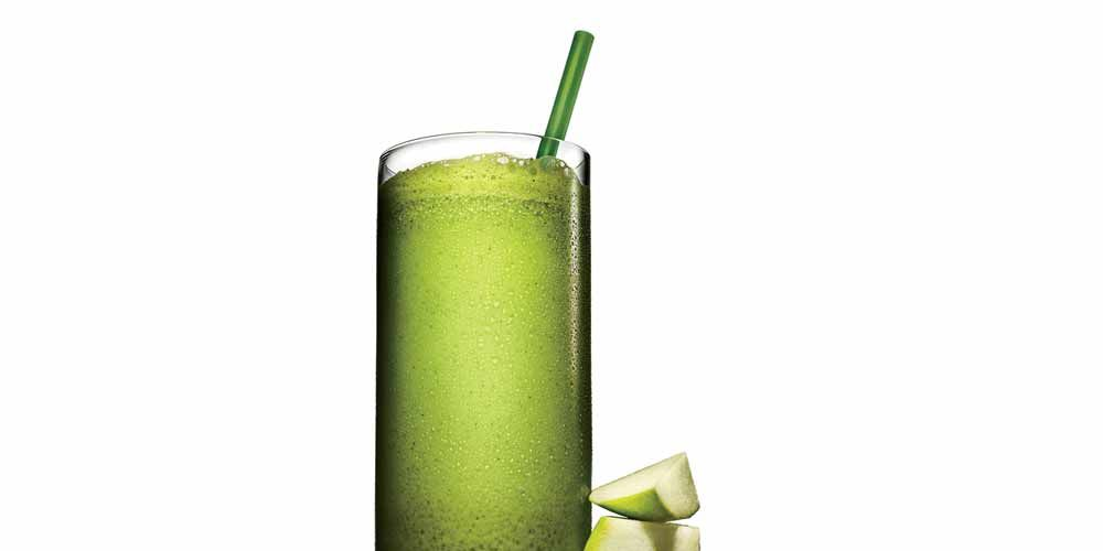 apple green tea shake
