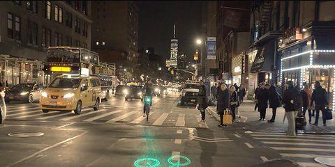 citi bike bike share laserlight blaze safety