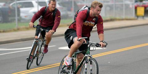 sean mcvay nfl head coach redskins rams bike commuting