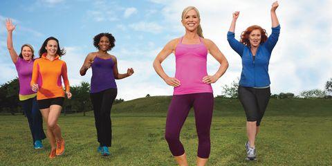Fun, Social group, Happy, Pink, People in nature, Magenta, Leisure, Waist, Active pants, Purple,
