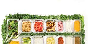 400-calorie salad bar