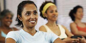 woman exercising fun workouts