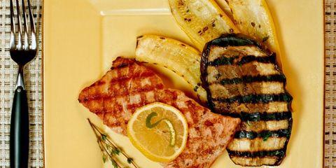 Food, Tableware, Cuisine, Plate, Ingredient, Dish, Breakfast, Meat, Meal, Fish,