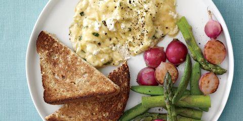 Food, Meal, Ingredient, Tableware, Dishware, Produce, Plate, Breakfast, Cuisine, Root vegetable,