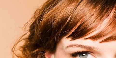 Brown, Hairstyle, Skin, Forehead, Eyebrow, Eyelash, Style, Brown hair, Iris, Organ,