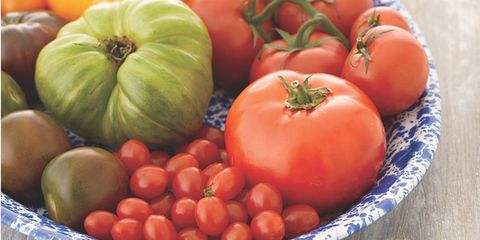 Local food, Vegan nutrition, Whole food, Food, Produce, Vegetable, Tomato, Natural foods, Ingredient, Bush tomato,