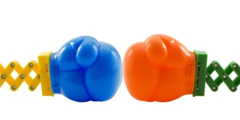Orange, Plastic, Colorfulness, Electric blue, Cobalt blue, Toy, Baby toys, Coquelicot,