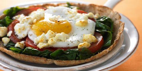 Fried egg, Food, Egg yolk, Meal, Dish, Cuisine, Ingredient, Tableware, Plate, Breakfast,