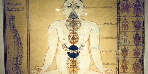 Chest, Temple, Facial hair, Art, Trunk, Mythology, Ancient history, Illustration, Visual arts, Symbol,