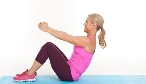 The Sit-Up That Works Your Triceps   Prevention