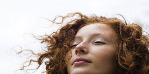 Hair, Lip, Cheek, Brown, Hairstyle, Chin, Forehead, Eyebrow, Eyelash, Facial expression,
