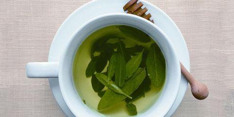 Leaf, Ingredient, Dishware, Serveware, Herb, Produce, Kitchen utensil, Ceramic, Soup, Herbal,