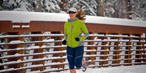 Winter running shoes