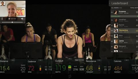 peloton cycle the new athome cycling workout  prevention