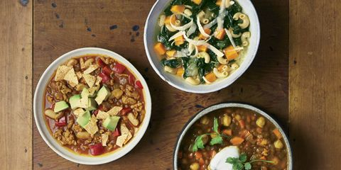 hearty winter soups and stews