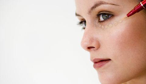 The primary purpose of a concealer is to offset the natural shadows that occur under the eyes and, in more elaborate makeup applications, to highlight ...
