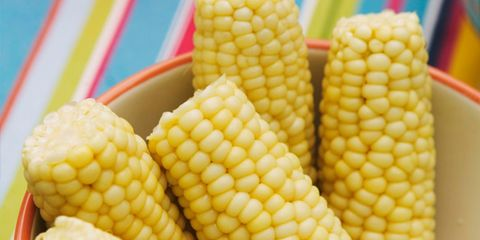 Healthy way to cook corn on the cob