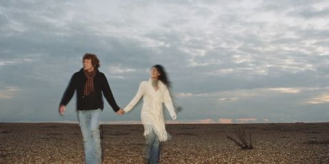 Photograph, Happy, People in nature, Travel, Gesture, Friendship, People on beach, Love, Holding hands, Pebble,