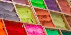 Colorfulness, Yellow, Green, Paint, Purple, Tints and shades, Art, Art paint, Magenta, Orange,