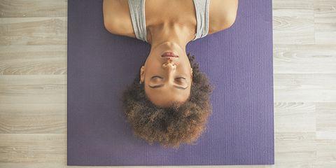 heal a headache with yoga