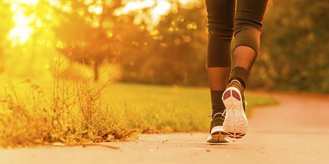 The walking trick to boost your mood