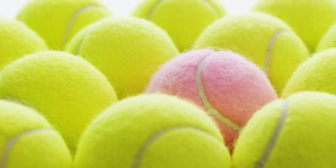 pain relief using a tennis ball