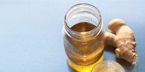 Ingredient, Fluid, Liquid, Amber, Oil, Serveware, Peanut oil, Ginger, Home accessories, Solution,