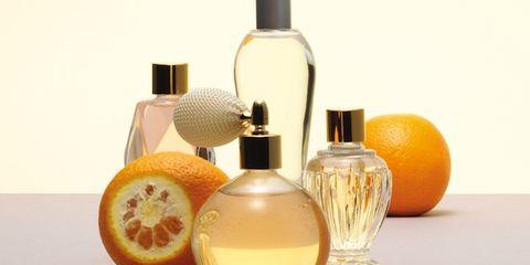 Liquid, Product, Brown, Yellow, Perfume, Fluid, Orange, Bottle, Peach, Fruit,