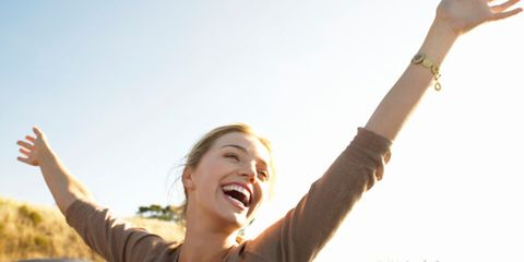 Mouth, Finger, Hand, Happy, Rejoicing, Wrist, Facial expression, People in nature, Summer, Gesture,