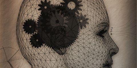 Forehead, Iris, Organ, Art, Pattern, Visual arts, Artwork, Illustration, Circle, Painting,