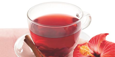 lower blood pressure with hibiscus tea