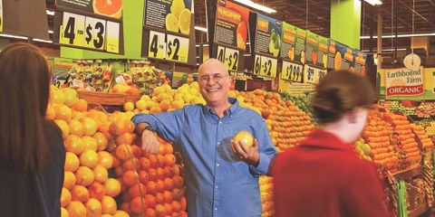 Retail, Local food, Whole food, Marketplace, Produce, Natural foods, Tangerine, Public space, Market, Trade,