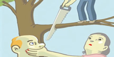 Cheek, Branch, Joint, Animation, Cartoon, Jaw, Interaction, Woody plant, Animated cartoon, Neck,