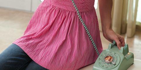 Pink, Dress, Magenta, Pattern, Thigh, One-piece garment, Day dress, Machine, Telephone, Cocktail dress,