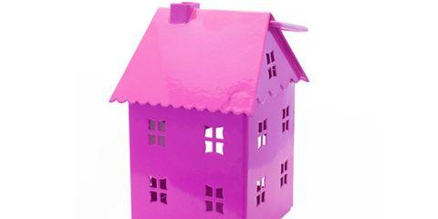 Property, Purple, Magenta, Violet, Pink, Lavender, Line, Facade, House, Real estate,