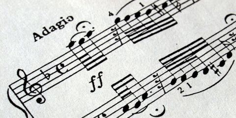 Sheet music, Music, Line, Style, Parallel, Classical music, Monochrome, Woodwind instrument, Wind instrument, Jazz,
