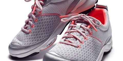 Footwear, Shoe, Product, Sportswear, Athletic shoe, Red, White, Sneakers, Light, Carmine,