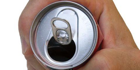 Finger, Skin, Beverage can, Aluminum can, Household hardware, Metal, Circle, Tin can, Aluminium, Silver,