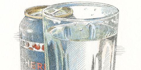 Drinkware, Glass, Line, Drink, Cylinder, Barware, Transparent material, Illustration, Drawing, Circle,