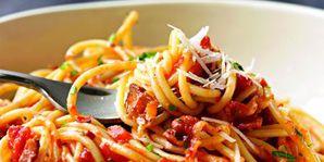 Food, Cuisine, Pasta, Ingredient, Produce, Tableware, Dishware, Vegetable, Recipe, Dish,