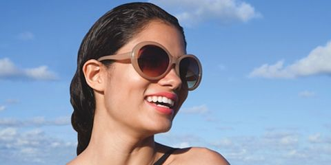Eyewear, Glasses, Nose, Ear, Vision care, Goggles, Lip, Mouth, Fun, Hairstyle,