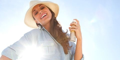 Finger, Sleeve, Hat, Happy, Facial expression, Summer, Sun hat, Headgear, Fashion accessory, People in nature,