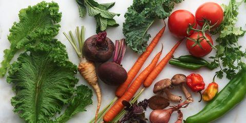 Vegan nutrition, Food, Whole food, Produce, Local food, Natural foods, Vegetable, Root vegetable, Leaf vegetable, Ingredient,