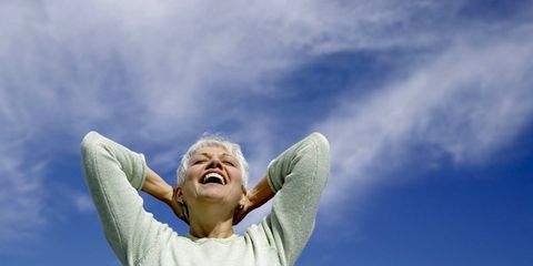 Daytime, Finger, Sleeve, Happy, Rejoicing, People in nature, Elbow, Gesture, Tooth, Blond,